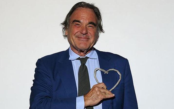 Amerikalı yönetmen Stone'a 'Saraybosna'nın Kalbi Ödülü'