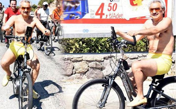 300 bavul ve 30 bisikletle Bodrum'a geldi, 20 loca kapattı!