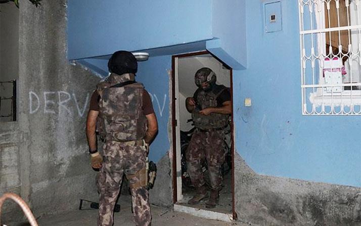 Adana'da PKK operasyonu gözaltılar var