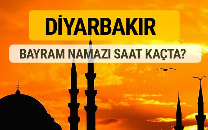 Diyarbakır Kurban bayramı namazı saati - 2017
