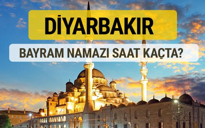 Diyarbakır bayram namazı saat kaçta 2 rekat nasıl kılınır?