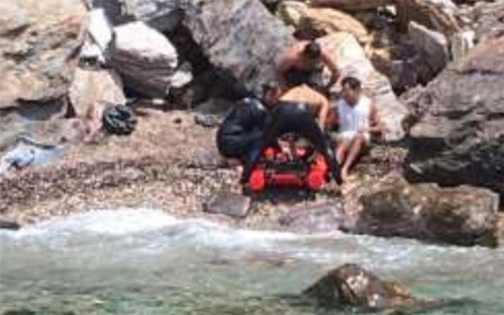 Aracıyla denize uçtu: 2 gün yaralı şekilde yardım bekledi!