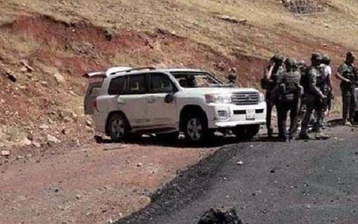 Irak'ta Türk askerinin geçişi sırasında patlama