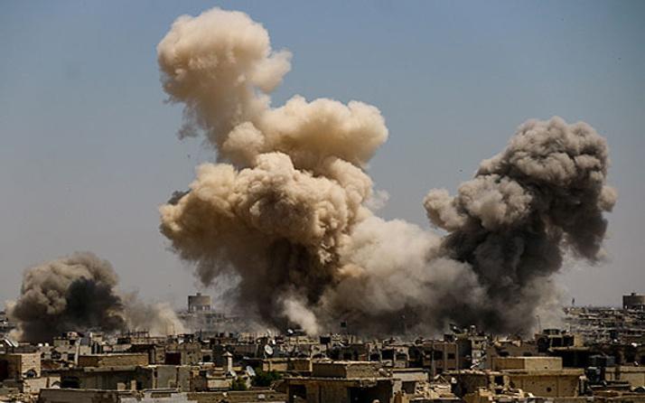 Esed güçleri yine sivilleri vurdu