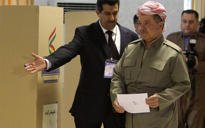 Barzani'ye üç koldan abluka! Tek çıkış yolu...