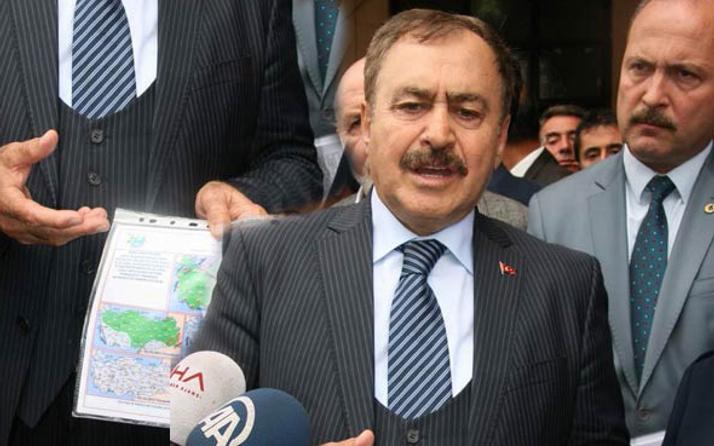 Bakan Eroğlu elindeki dosyayı gösterip herkesi uyardı