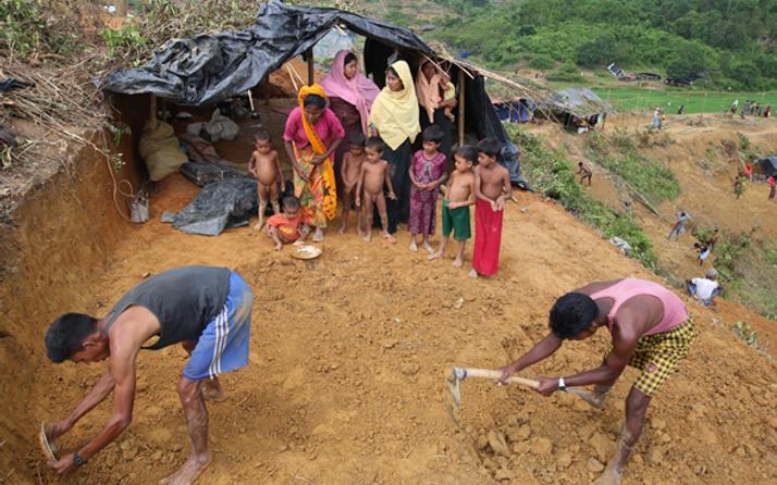 Myanmar'a Bangladeş nota verdi Arakan'da son durum