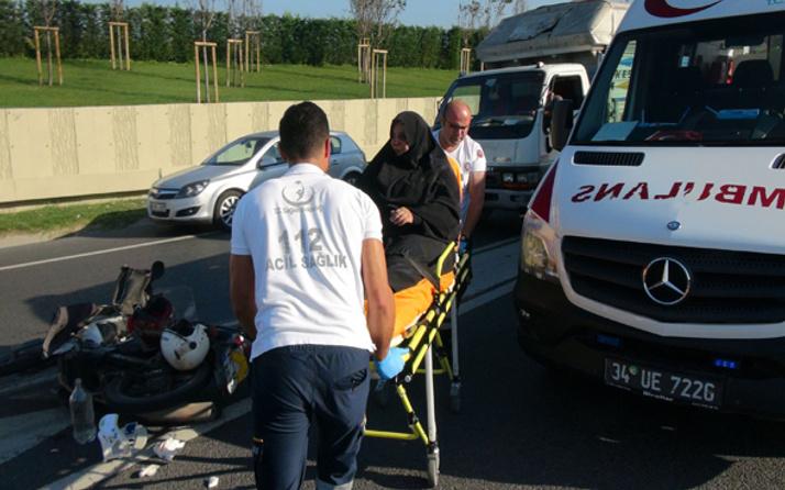 Edirnekapı'da trafik kazası: 1'i ağır 2 yaralı