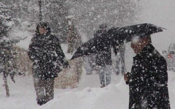 Sivas hava durumu meteoroloji kar alarmı verdi
