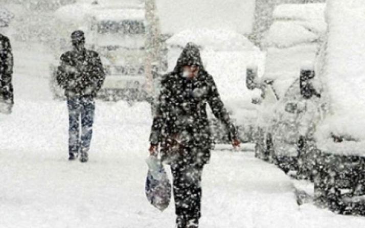 Aksaray hava durumu meteoroloji kar alarmı verdi