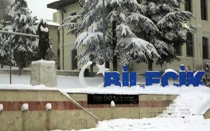 Bilecik hava durumu meteoroloji kar alarmı verdi