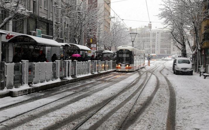 Eskişehir hava durumu meteoroloji kar alarmı verdi