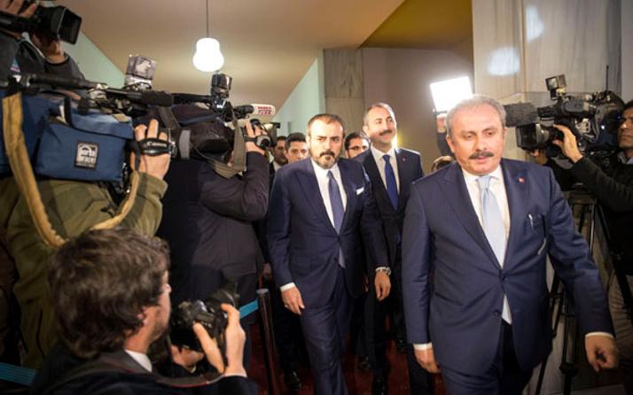 AK Parti-MHP ittifak görüşmesi sonrası ilk açıklama