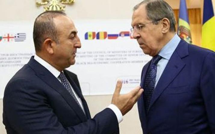 Çavuşoğlu ile Lavrov, Soçi ile Afrin'i görüştü