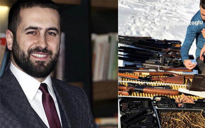 Cübbeli Ahmet Hoca'nın damadının silahlarla tatil pozu