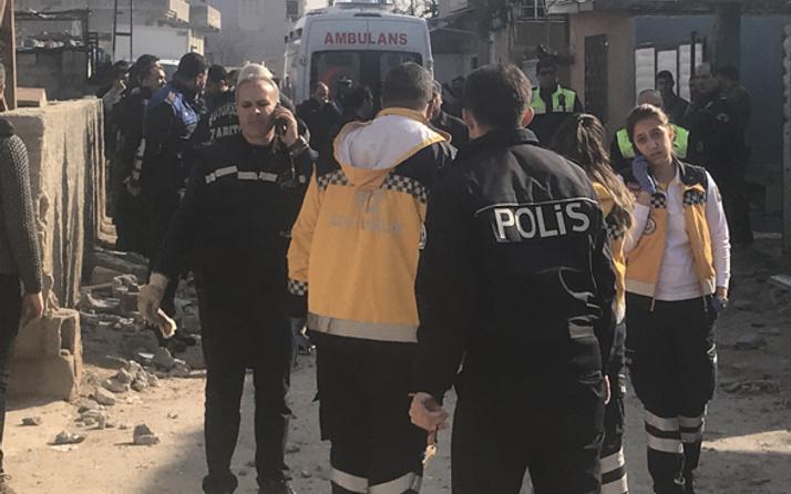 Teröristler iyice kudurdu! Reyhanlı'ya 5 roket atıldı: 1 ölü, 1 yaralı