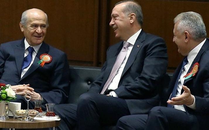 TBMM'de üçlü zirve sonrası Erdoğan'dan ilk sözler!