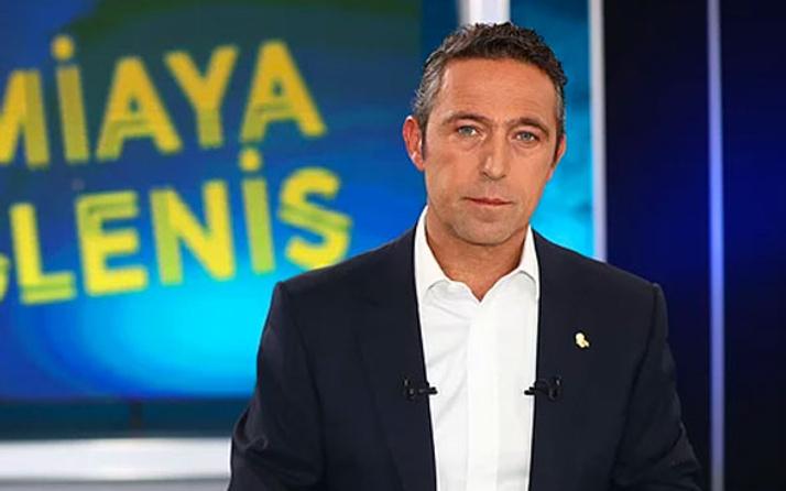 Ali Koç'tan flaş Ersun Yanal açıklaması!