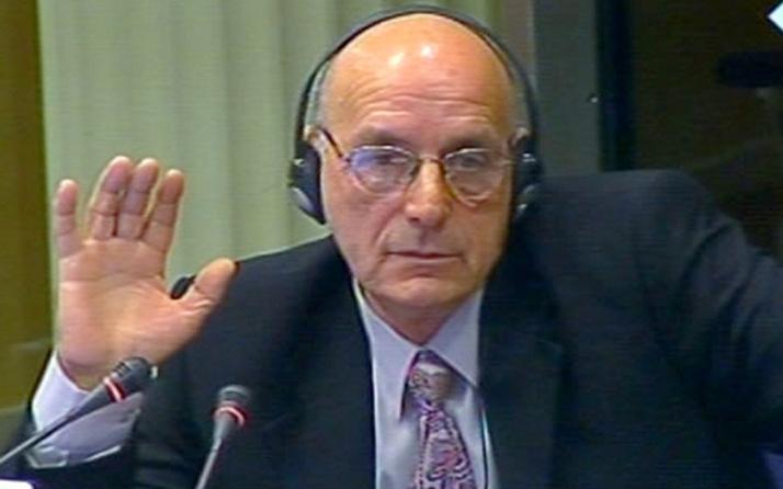 Eski Sırp komutana 5 yıl hapis cezası