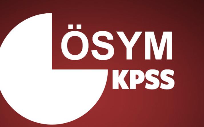 KPSS sonuçları açıklanıyor ÖSYM sonuç bilgisi günü