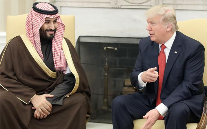 Trump'tan prens Selman sorusuna olay yanıt