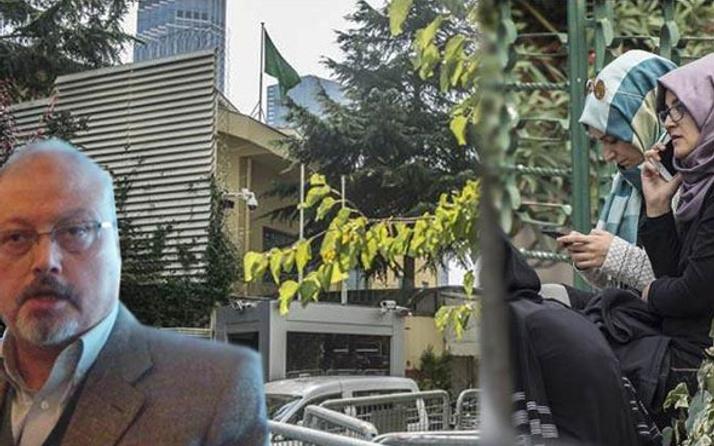 Nişanlısı Suudi konsolosluğu önünde kayıp gazeteciyi bekliyor