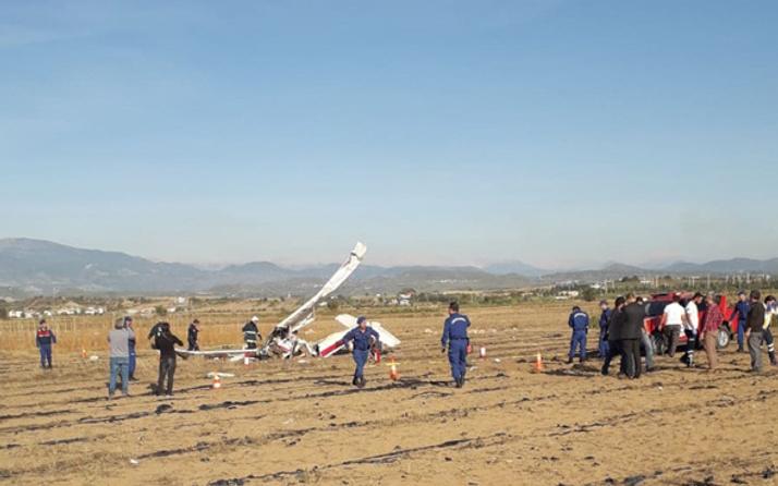 Antalya'da uçak kazası! Kurtarma ekipleri bölgeye gitti