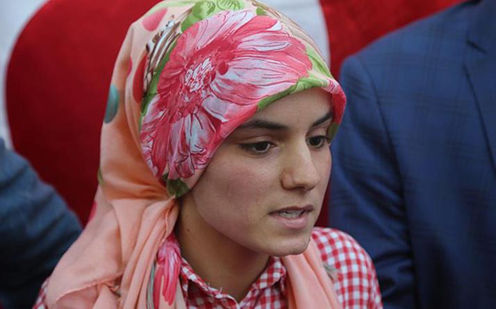 Şehit kızından PKK'ya tokat gibi sözler!