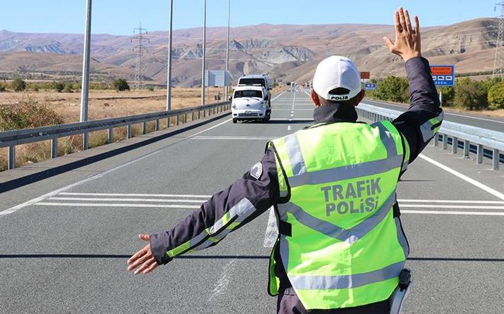 3 milyon sürücüye ceza yayalar da nasibini aldı