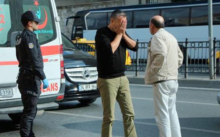 Taksi sahibi araç içinde ölen kişiyi görünce şok oldu