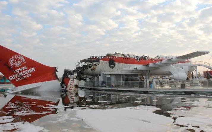 Uçak restorandaki yangının nedeni ortaya çıktı