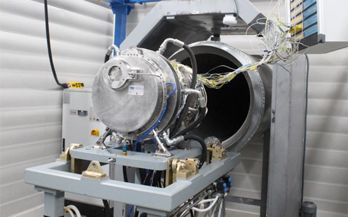 İlk yerli helikopter motoru Eskişehir'de test edildi