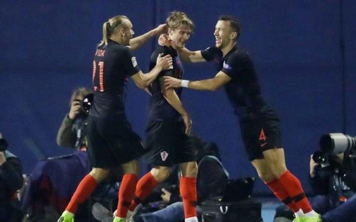 Hırvatistan, İspanya'yı son saniye golüyle yıktı!