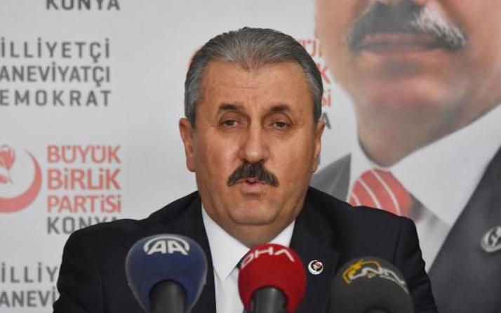 AK Parti ile ittifak olacak mı ? Destici açıkladı