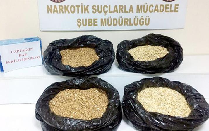 Simit fırınında 320 bin uyuşturucu hap ele geçirildi