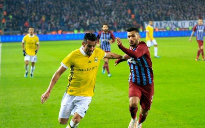 Trabzonspor Fenerbahçe'yi evinde yenemiyor!