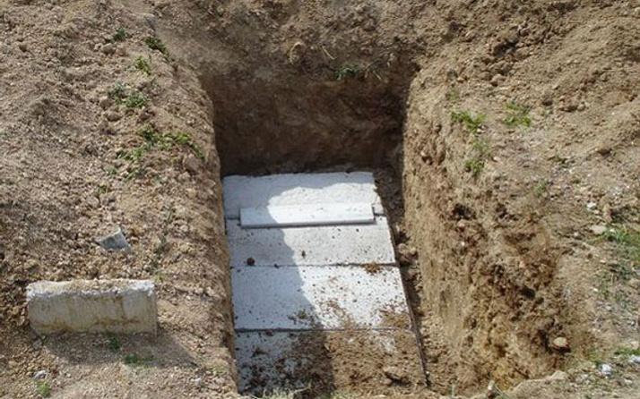 Yok artık bu sefer de mezarlıktan vurgun yaptılar
