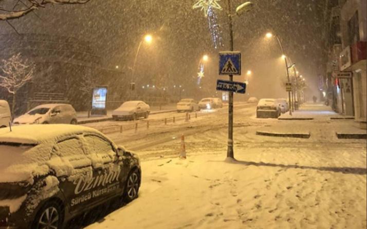 Tekirdağ hava durumu son kar uyarısı şiddetli