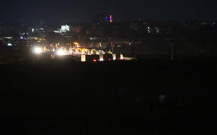 ABD'den YPG'ye destek: TIR'lar böyle görüntülendi!