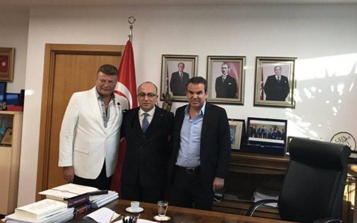Nuri Alço'dan MHP Genel Merkezine ziyaret