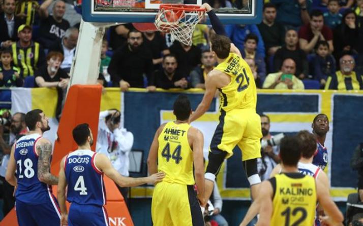 Fenerbahçe Efes'i uzatmada devirdi!