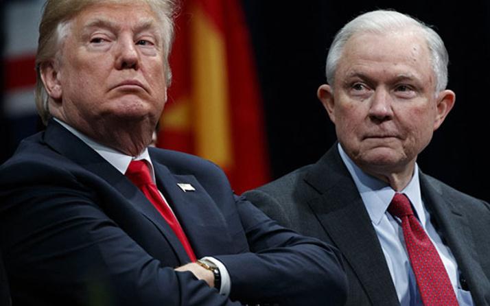 ABD Adalet Bakanı Jeff Sessions istifa etti
