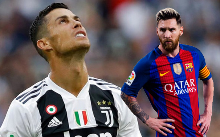Ronaldo'dan Messi'ye çağrı: Meydan okuyarak gelsin
