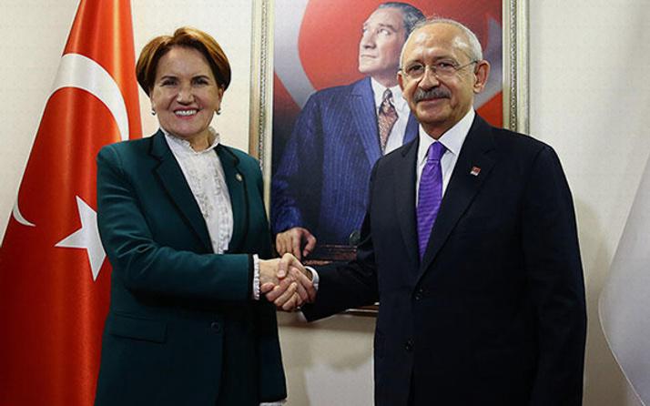 CHP-İYİ Parti ittifakında flaş gelişme Kılıçdaroğlu ile Akşener buluşuyor