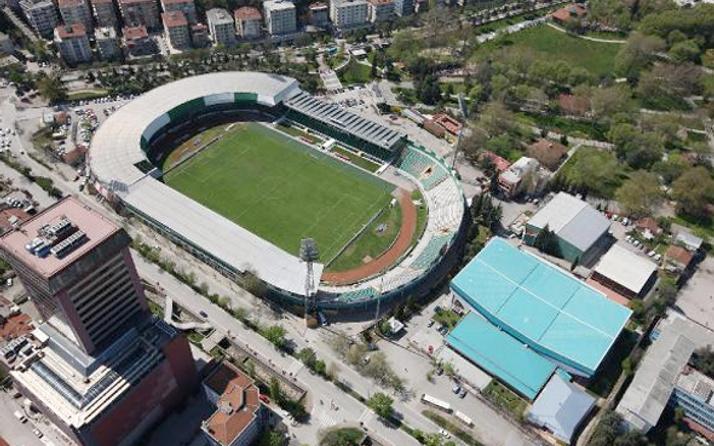 Bursaspor'un yıkılan eski stadı 'Millet Bahçesi' olacak