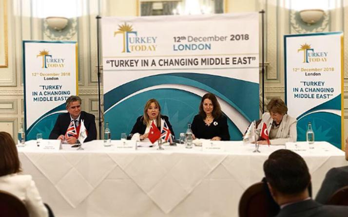 Londra'da dikkat çeken Türkiye paneli