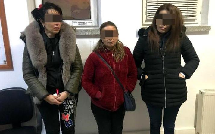 Fuhuş operasyonu! 3 kadınla 15 erkek aynı odada basıldı