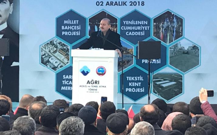 İçişleri Bakanı Süleyman Soylu: 'Filmi başa sarmayalım'