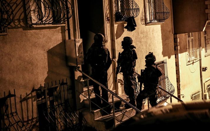 İstanbul'da suç örgütüne yönelik dev operasyon