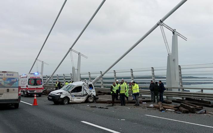 Yavuz Sultan Selim Köprüsü'nde korkunç kaza